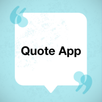 Quotes App with Categories - iPhone App