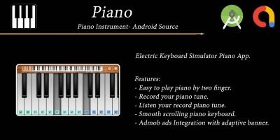 Piano Instruments - Android Source Code