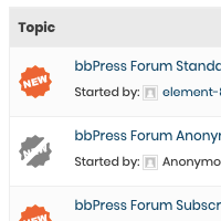 bbPress Stylish Unread Posts