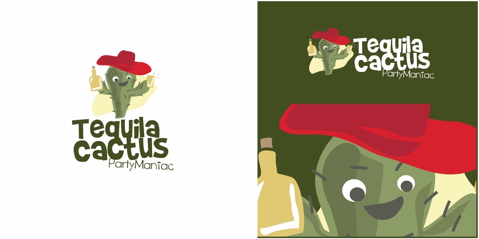 Tequila Cactus Logo