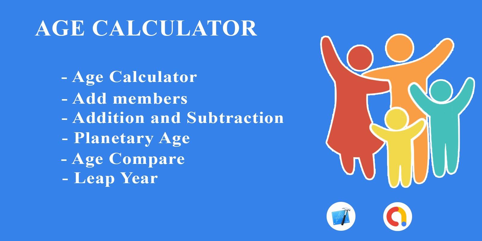 Age Calculator - iOS Application Source Code