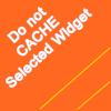 do-not-cache-selected-widget-wordpress-plugin