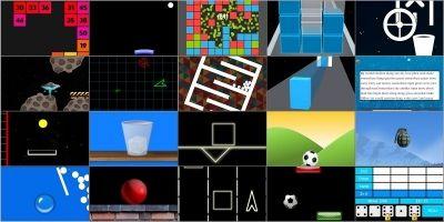 20 Games Bundle - Unity Source Code