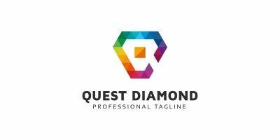Q Letter Colorful Logo