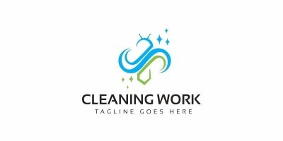 Bee Cleaning Logo