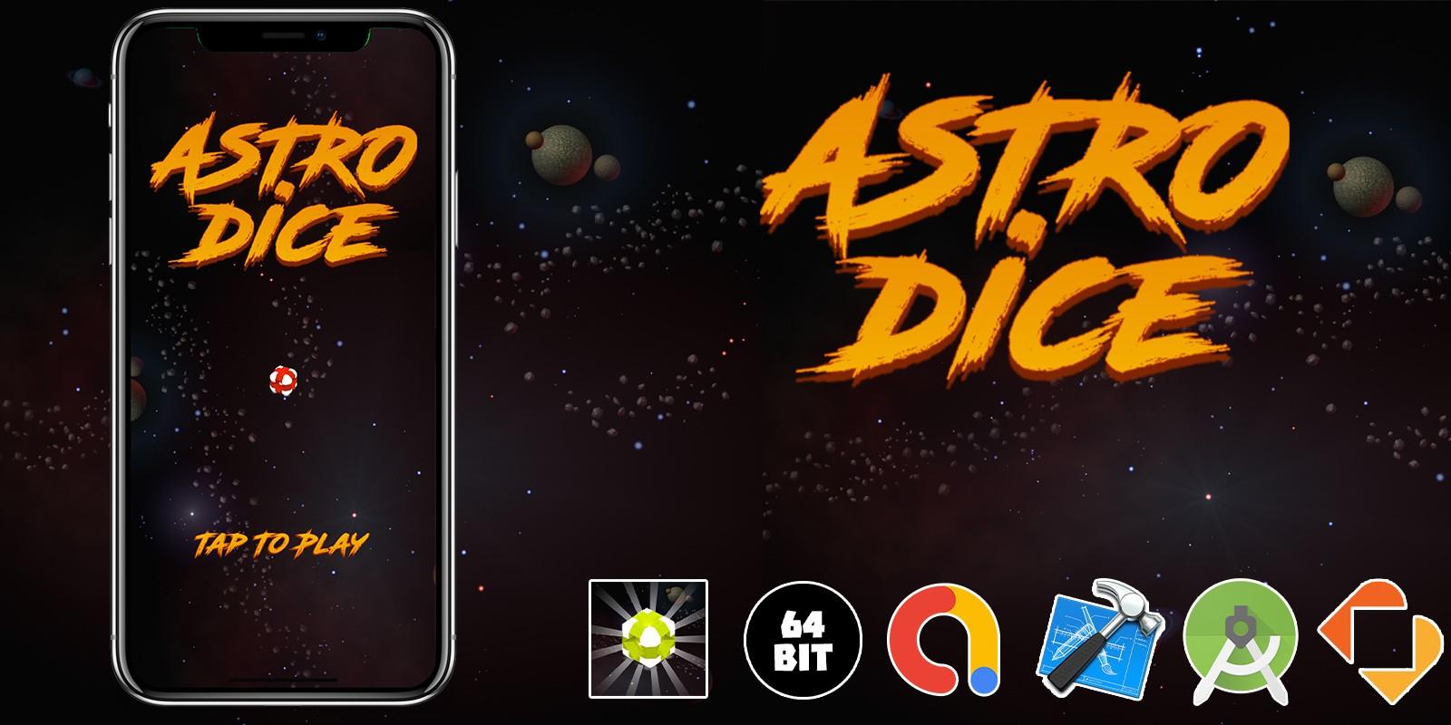 Astro Dice - Buildbox Template