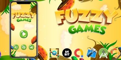 Fuzzy Games - Buildbox Template