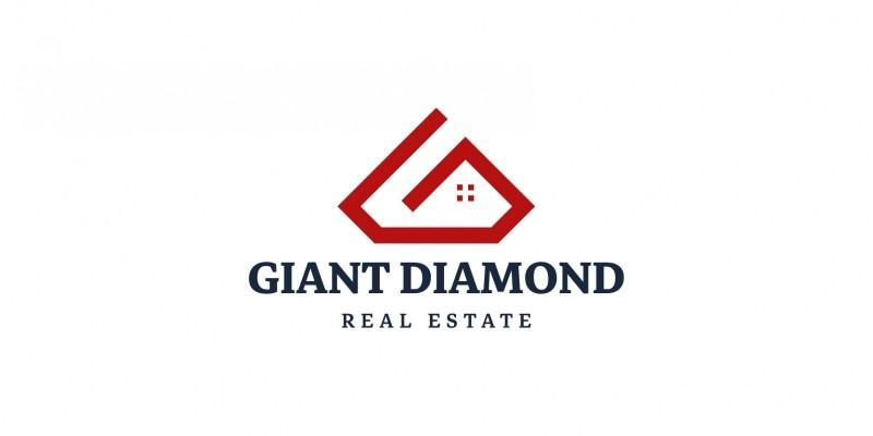 Giant Diamond Real Estate Logo