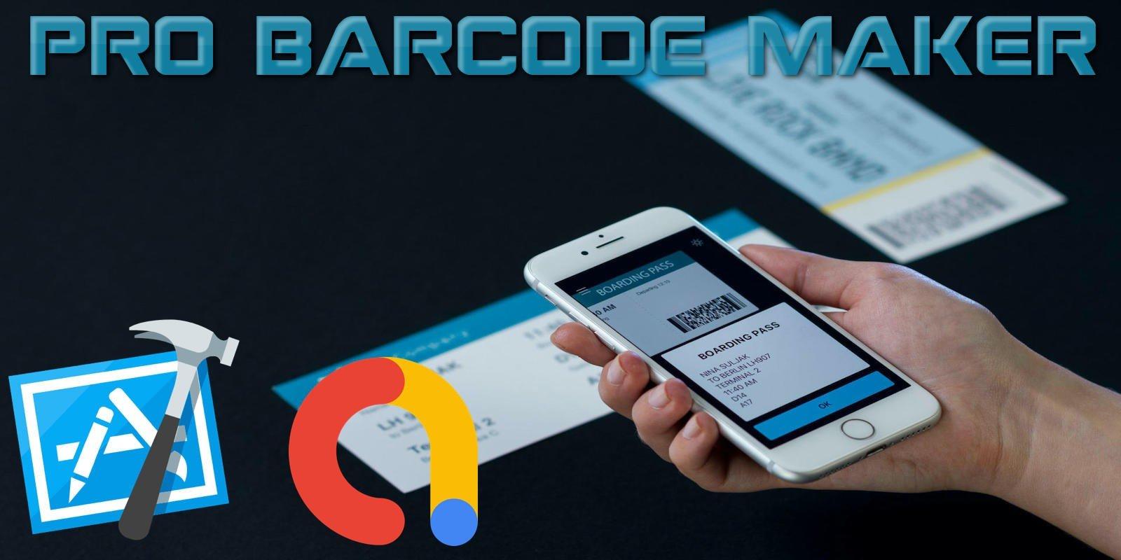 Pro Barcode Maker - iOS App Source Code
