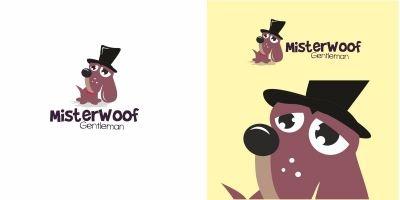 Dog Mister Woof Logo