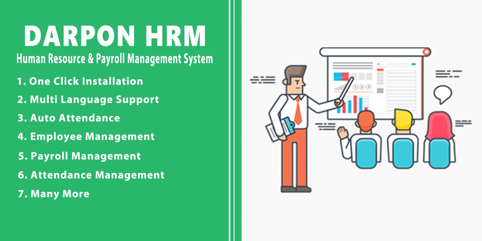Darpon HRM - Human Resource Payroll Management