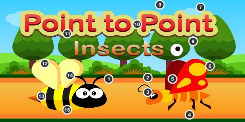 Point To Point Insects - Unity Education Project