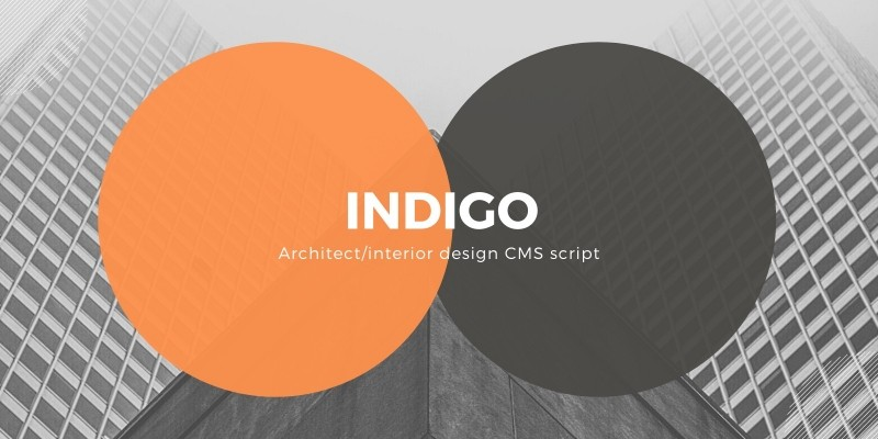 Indigo - Design Agency CMS Script