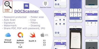 DOCScanner - iOS App Source Code