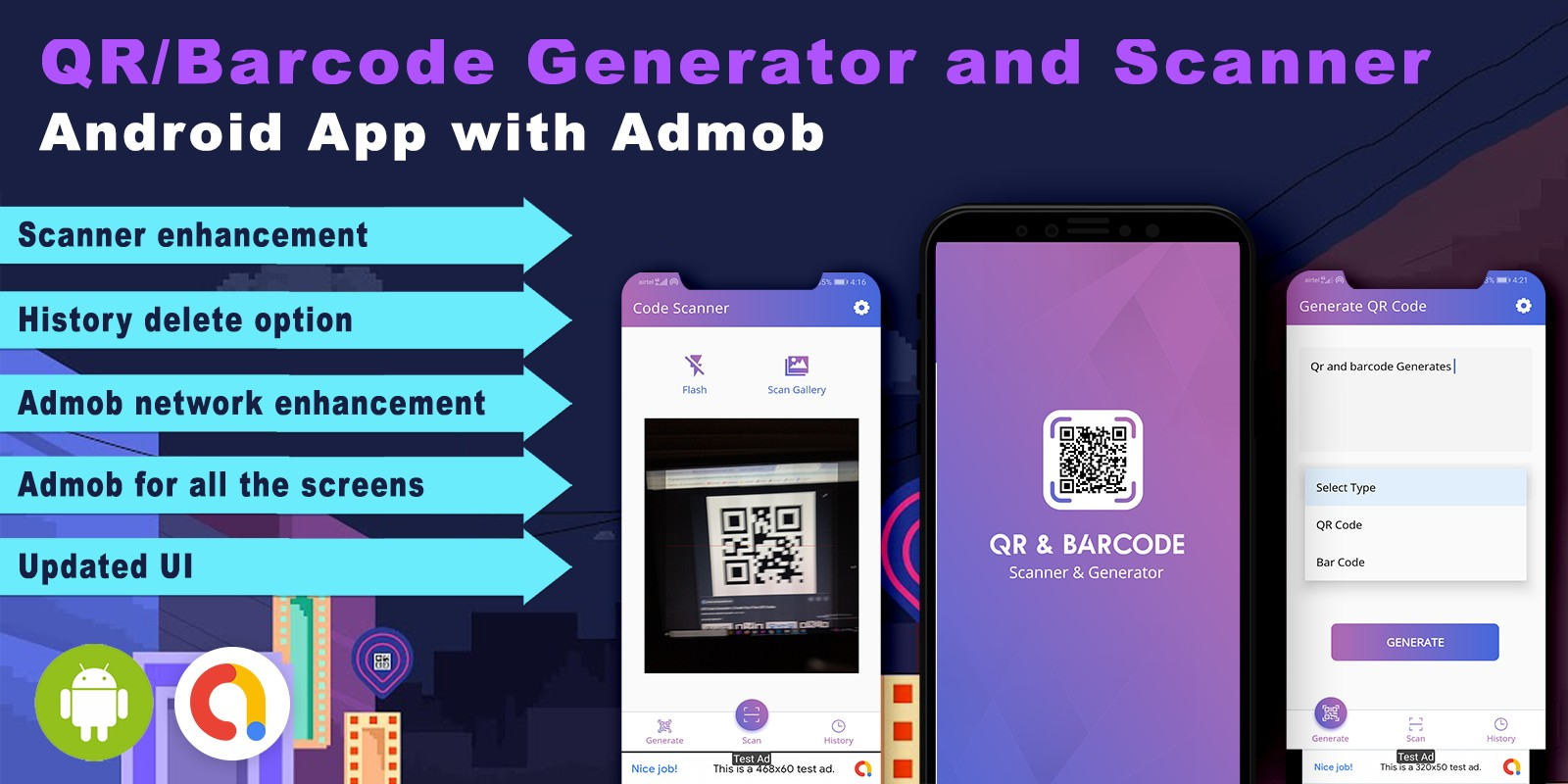 Android QR Code Scanner Source Code