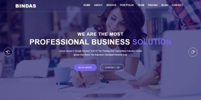 Bindas Consulting And Business HTML5 Template