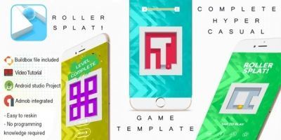 Roller Splat Buildbox 3 Template With Admob
