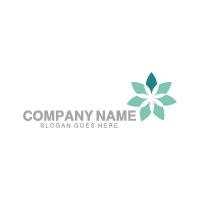 Flower Arrow Logo
