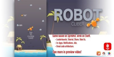 Robot Climber - iOS Source Code