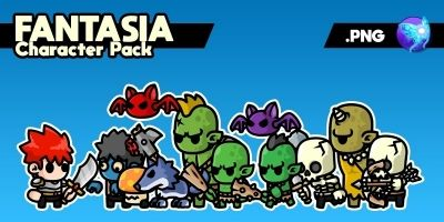 Fantasia Character Pack