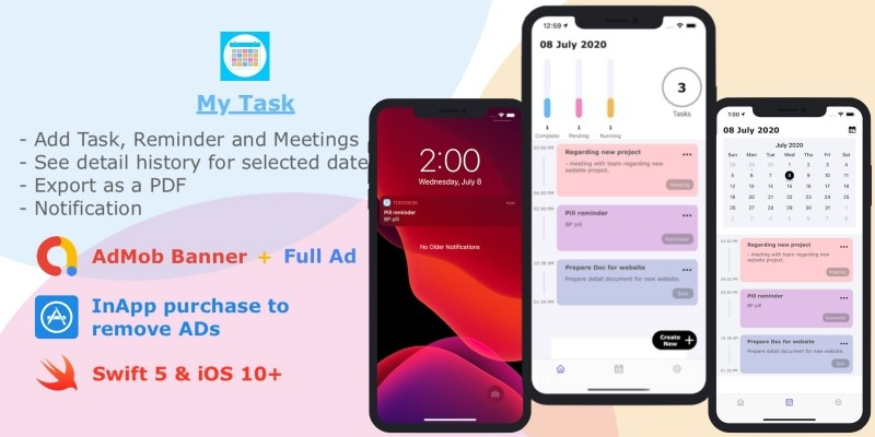 MyTask - Task Manager iOS Source Code