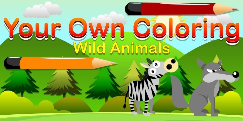 Your Own Coloring Wild Animals - Unity Kids Game