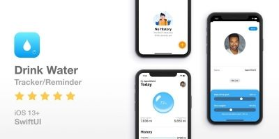 Drink Water - Reminder Tracker - SwiftUI