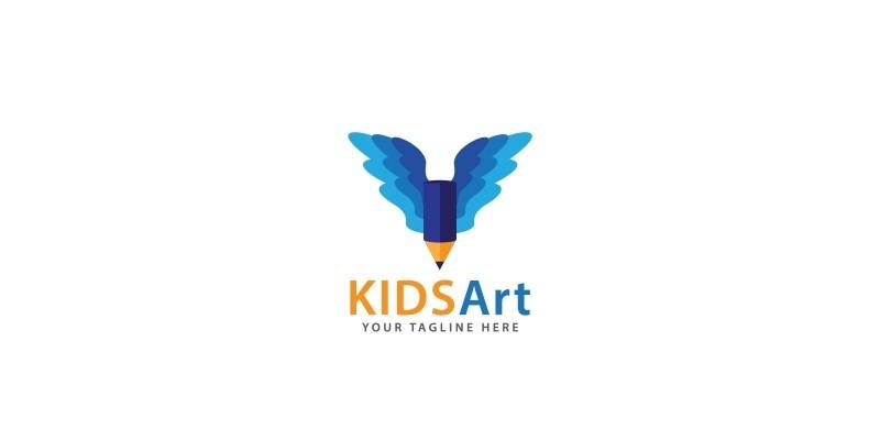 Kids Art Logo Template
