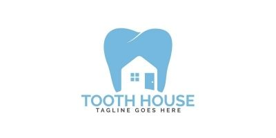 Tooth House Logo Design