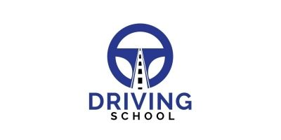 Driving School Logo Design.