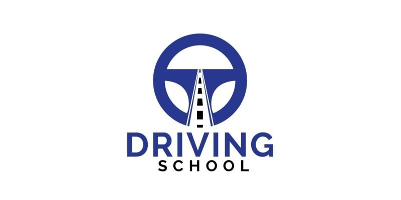 Driving School Logo Design.