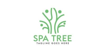 Spa Tree Logo Design