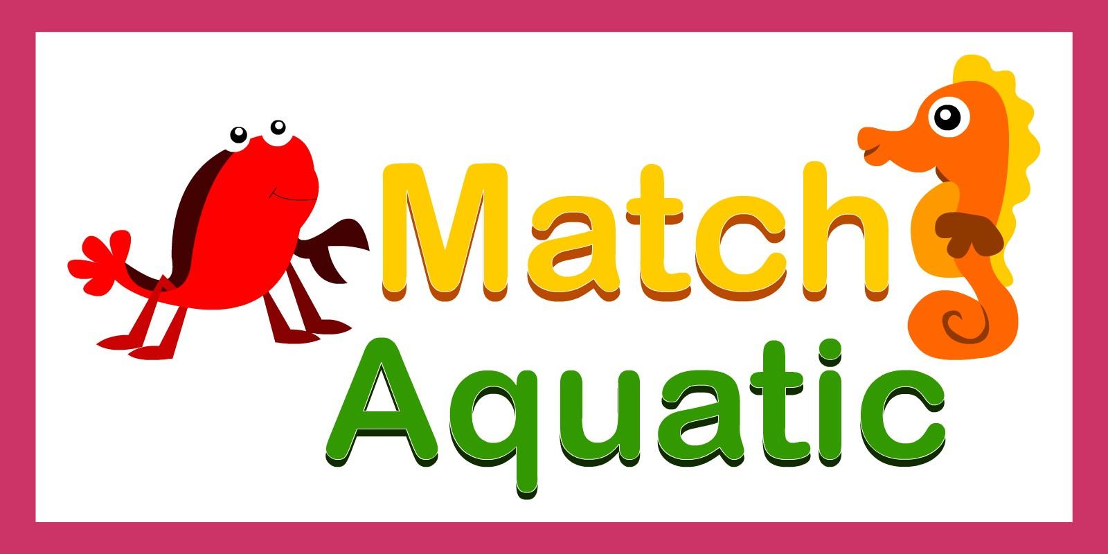 Match Aqautic - Unity Kids Game