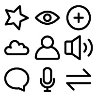 App And User Interface Vector Icons