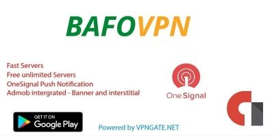 Bafo VPN - Ovpn Android App Source Code