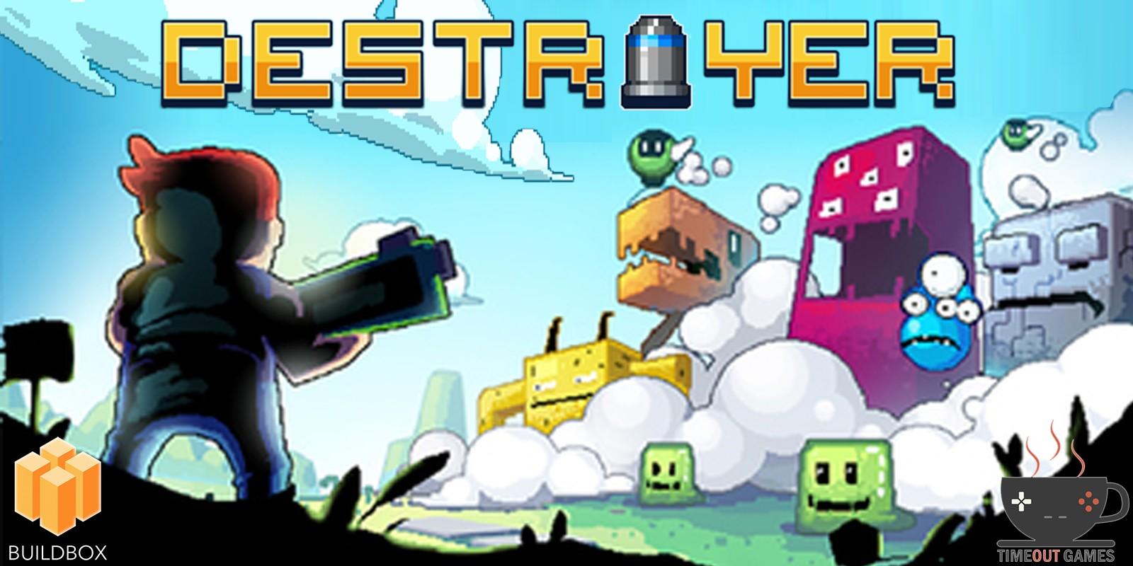 Destroyer - Full Buildbox Game