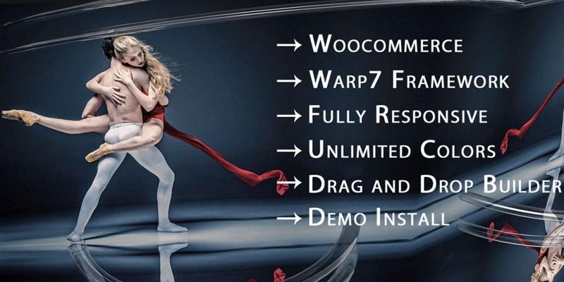 The Dance School - WordPress Theme