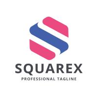 Square Cube Letter S Logo