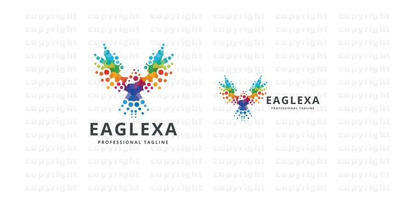 Pixel Eagle Logo