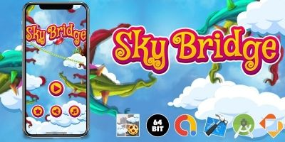 Sky Bridge - Buildbox Template