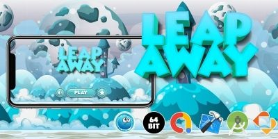 Leap Away - Buildbox Template