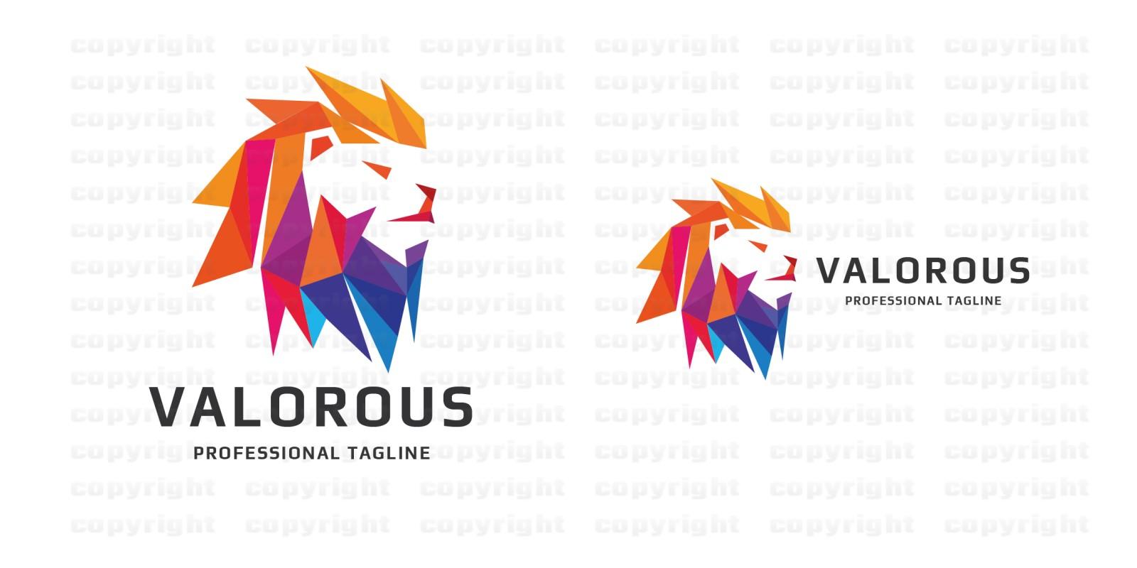 Valorous Lion Logo