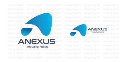 Anexus Letter A Logo