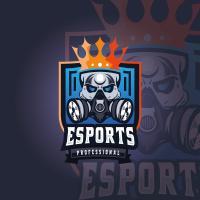King Skull Professional Esport Logo