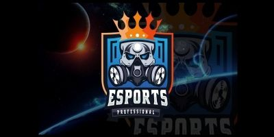 King Skull Professional Esport Logo