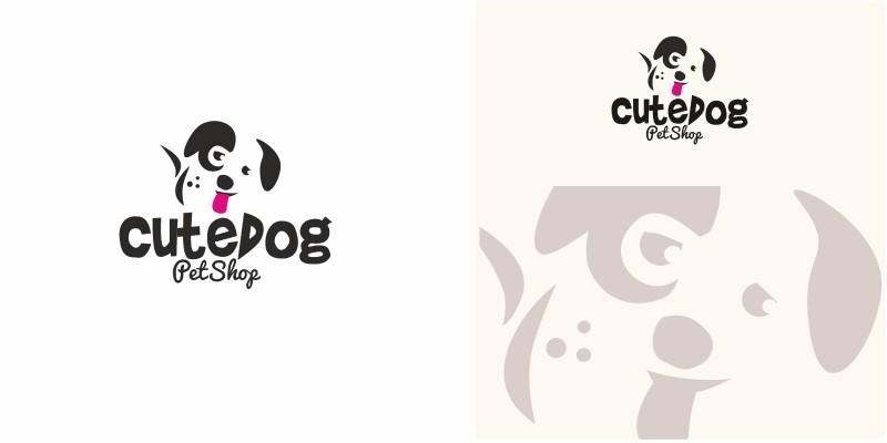 Cute Dog Logo