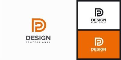 Letter D P Logo