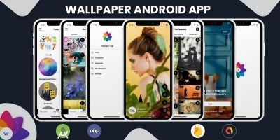 Wallpaper Android App With Admin Panel