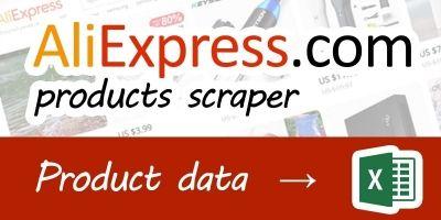 AliExpress Goods Scraper .NET Source Code