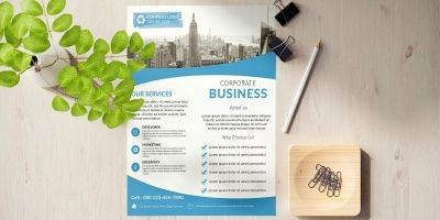 Modern Corporate Business Flyer Template